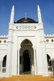 Entrance of Alwi Mosque in Kangar Stock Photography