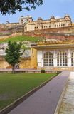 Entrance Of Amber Fort. Front entrance of Amber Fort. Jaipur,Rajasthan stock photos