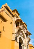 Entrance of Amer Fort in Jaipur. A major tourist attraction in Rajasthan, India. Entrance of Amer Fort in Jaipur. A major tourist attraction in Rajasthan State Royalty Free Stock Image