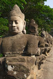 Entrance of Angkor Thom, Cambodia Royalty Free Stock Photography