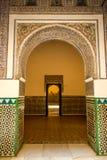 Entrance with arabian motives , Cathedral of Sevilla Stock Photos