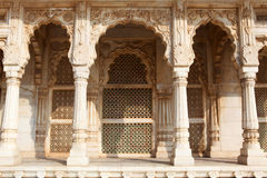 Entrance arches of the Jaswant Thada in Jodhpur - Royalty Free Stock Image