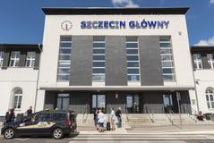 Free Entrance At Szczecin Main Railway Station Poland Stock Photography - 194050652