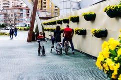 Entrance Of Ataturk`s Moving Kiosk In Yalova - Turkey royalty free stock photography