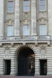 The entrance & the balcony of Buckingham Palace in London, England Royalty Free Stock Photo