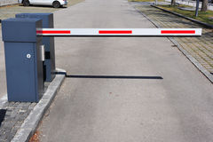 Entrance barrier Royalty Free Stock Photos