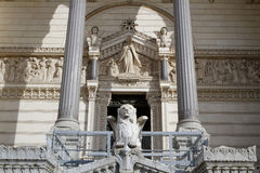 Entrance of Basilica of Fourviere Royalty Free Stock Images