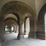 Entrance of a basilica Royalty Free Stock Photos