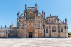 Entrance of Batalha Monastery in Portugal Royalty Free Stock Image