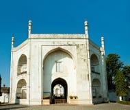 Entrance in Bibi-ka-Maqbara, poor's man Taj Mahal Stock Photos