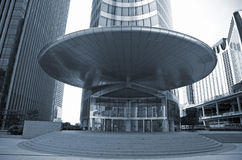 Entrance big business - La Defense Stock Photo