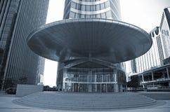 Entrance big business - La Defense. Entrance corporate office building - La Defense, Paris Stock Photo