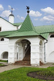 The entrance of the Bishop's chambers in Suzdal Royalty Free Stock Photos