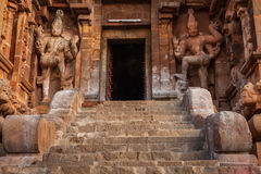 Entrance of  Brihadishwara Temple. Tanjore (Thanjavur) Stock Images