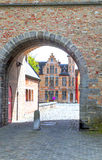 Entrance of Bruges Royalty Free Stock Photography