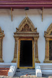 Entrance of Buddhist Temple Stock Image