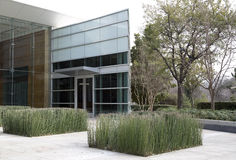 Entrance of modern building design Royalty Free Stock Photos
