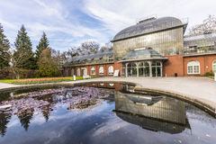 Entrance building of the  palmengarten in Frankfurt, Germany Stock Image