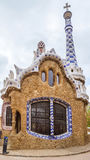 Entrance building to the Parc Guell Royalty Free Stock Photo