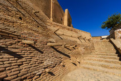 Entrance in Bukhara zindan - old prison times of the Emirate of Bukhara, Uzbekistan Royalty Free Stock Image