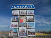 Entrance in Calafat Royalty Free Stock Image