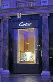 Entrance of a Cartier store Royalty Free Stock Photography