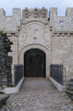Entrance of a castle Stock Photo