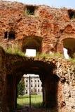 Entrance of castle Stock Photos
