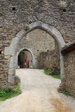 Entrance of a castle Stock Photography