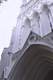Entrance of Cathedral Stock Images