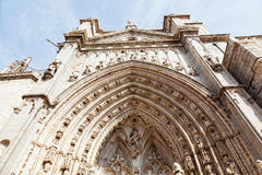 Entrance in cathedral, de Toledo Stock Photography