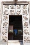 Entrance in Chiesa di San Fermo Maggiore in Verona Stock Photos