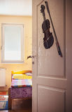 Entrance of a Child`s Room Stock Image