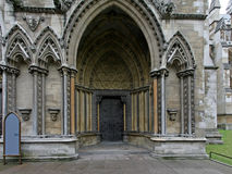 Entrance church Royalty Free Stock Image