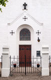 Entrance of a church Royalty Free Stock Photography