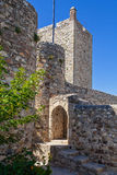 Entrance of the cistern or water tank and a watchtower of the Marvao Castle Stock Photography