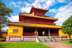 Entrance of Citadel, Hue, Vietnam. Stock Photo