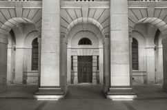 Classical exterior Stock Images