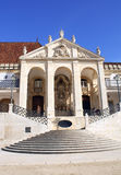 Entrance of Coimbra University in Portugal Royalty Free Stock Images