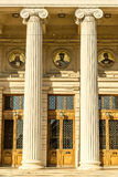 Entrance With Columns Royalty Free Stock Photo