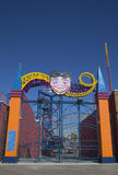 Entrance at Coney Island Luna Park in Brooklyn Stock Photos