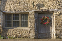 Entrance of Corbitts Cottage in Castle Combe Royalty Free Stock Images