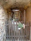 Entrance of a Corsican house Royalty Free Stock Photos