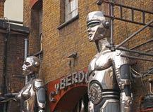Entrance of Cyberdog in Camden stock photos