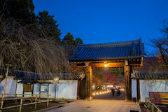 Entrance Daigoji Temple in Japan Stock Photography