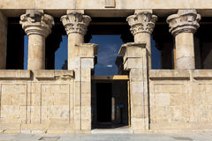 Entrance of the Debod Temple, Madrid Royalty Free Stock Photography