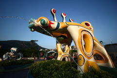 Entrance decoration of ocean park Stock Photo