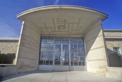 Entrance of the Des Moines Art Center, Des Moines, Iowa Stock Image