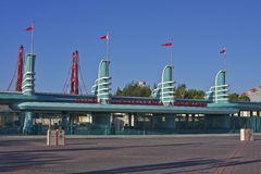 Entrance, Disney California Adventure Stock Images