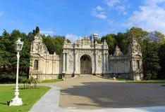 Entrance Dolmabahçe Palace - Istanbul Stock Photography
